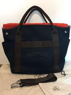 全新 Hermes Pansage Navy (有塵袋,全套請看相片,沒有盒,沒有單,可陪驗,不需陪驗減$500)