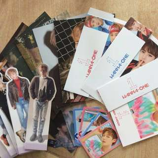 WTS Wanna One Album Member Items