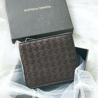 Bottega veneta man wallet all card // coffee