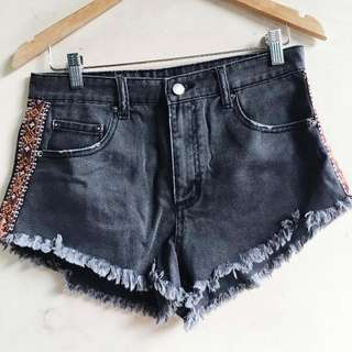 Forever 21 Dark Wash Denim Shorts