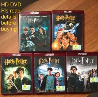Harry Potter series HD DVD Movies