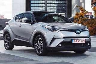 Toyota CHR Hybrid for rent