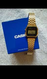 Casio Gold Vintage Watch