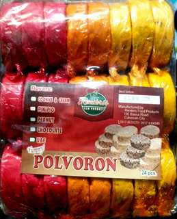 assorted flavor polvoron