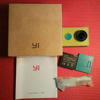Action Cam Xiaomi Yi Basic Green Bekas