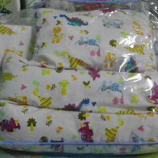 set matress, pillow & bolster bantal dan tilam like new