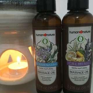 Calming & Rejuvenating Massage oil