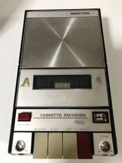 Vintages Old Cassette Recorder (Bigston)
