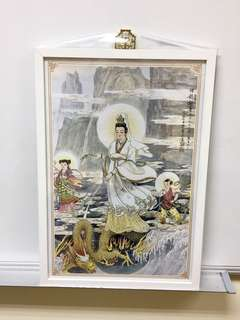6 Framed Portraits of Guan Yin