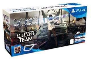 (Brand New) PS4 VR Bravo Team + AIM Controller ( PSVR Required )