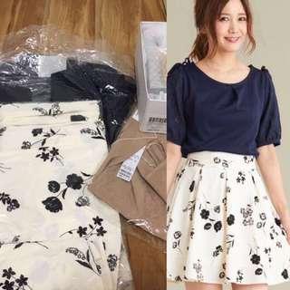 日本購入🇯🇵majestic legon 半身裙超靚彈性腰斯文裙