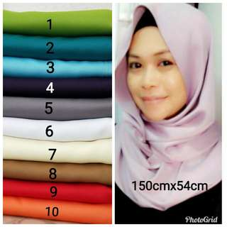 Matte Satin Snood Instock