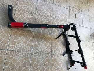 Bike Rack - 4 Bike Tow Hitch Adapt