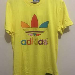Adidas Superstar Pharell William T-Shirt Yellow BNWT Size M