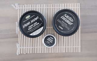 Set of 3 - Lush products