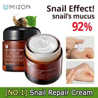 Mizon all in 1 snail repairing cream