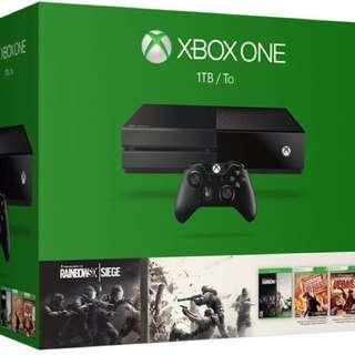 BNIB Xbox One Tom Clancy's Rainbow Six Siege Bundle