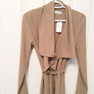 M by Mendocino • NEW Drape cardigan with belt