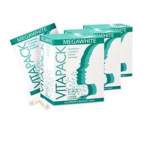VITAPACK Megawhite Glutathione Skin Whitening Antioxidant Supplement