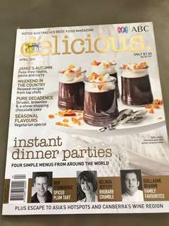 ABC Australia Delicious magazine with recipes