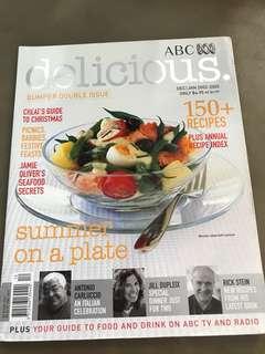 ABC Australia Delicious magazine with recipes