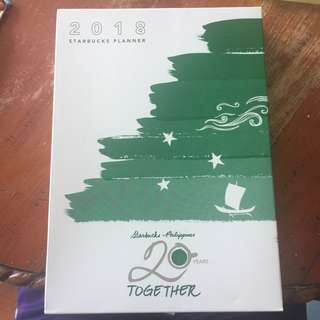 New Starbucks Planner 2018