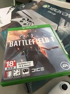 Xbox One : battlefield 1