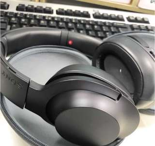 Sony h.ear on wireless NC (MDR-100ABN) with box