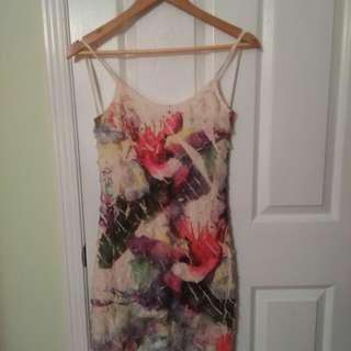 Long straps summer dress