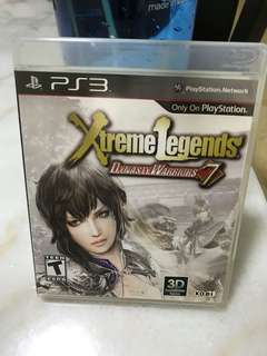 PS3 Dynasty Warriors 7 Extreme Legends