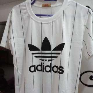 Adidas Stripe Tshirt