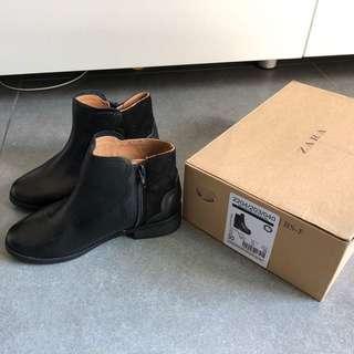 US12 Zara girl's boots 女童短靴 18cm