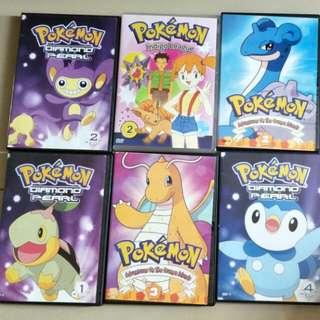 Pokemon DVD / CD Clearance