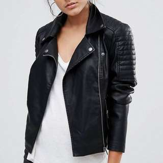 M boutique leather jacket XS