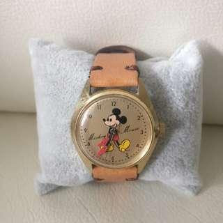 Seiko 米奇老鼠手上鍊手錶