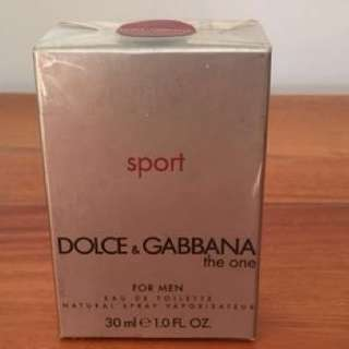 Dolce and Gabbana The One Sport 30ml 1.0 FL Oz