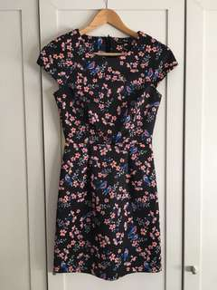 Tokito Floral Bodycon Dress