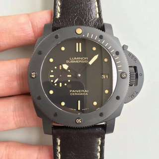 環亞  Panerai PAM508 Submersible Ceramic 47mm 陶瓷錶 VS工廠新品 面交