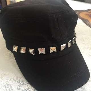 全新黑色柳釘帽冷帽