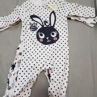 Brand new F&F Baby's Sleepsuit