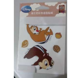 迪士尼 奇奇蒂蒂 開關壁貼 裝飾貼紙