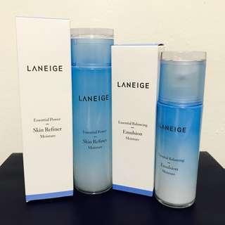 Laneige skin refiner Laneige balancing emulsion