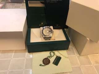 """近全新Rolex 116610Ln籃光亂碼""""無咭""""其他齊"""