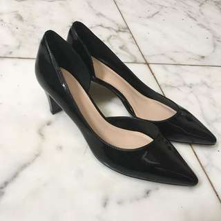 Charles n Keith Shoes Black
