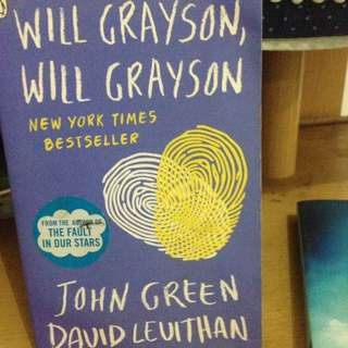 ENGLISH WILL GRAYSON WILL GRAYSON JOHN GREEN ENGLISH