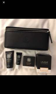 Lalique Pouch Set by Singapore Airlines