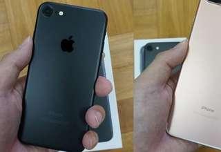 Iphone 7 128gb黑色