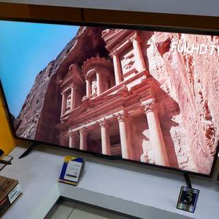"Sharp LED TV 50"" Smart TV LC50SA5500X cicilan 0% Tanpa CC"