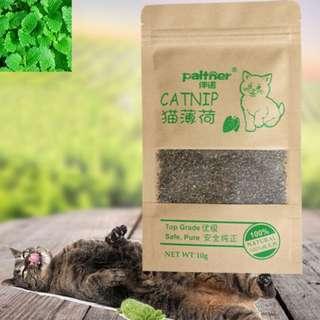(PREORDER) New Organic 100% Natural Premium Catnip Cattle Grass 10g Menthol Flavor