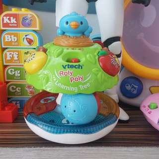 Vtech roly poly educational toys woth sounds and light